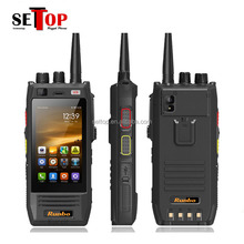 Runbo H1 Rugged IP67 Waterproof 2G 3G 4G LTE Phone NFC GLONASS GPS PTT VHF UHF Walkie Talkie Cellphone