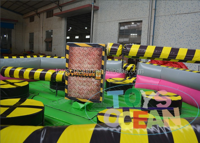 Inflatable wipeout /Mechanical ultimate wipeout/commercial game machine
