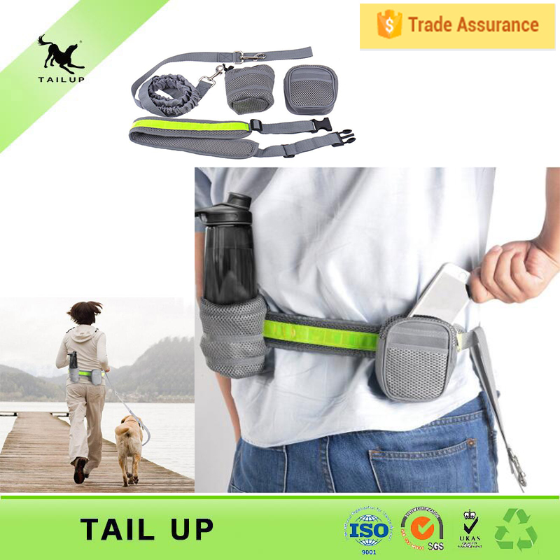 TAILUP No-pull harness running retractable leash secure dog collars