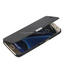 Magnetic Ultra Folio Flip Slim Leather Twill Case Cover Pouch for Samsung Galaxy S7 edge S8 plus note8