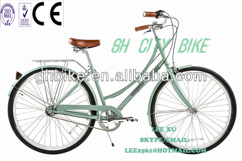 26inch CE approved pure city bike/city bikes