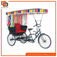 passenger tricycle electric rickshaw with pedal for india