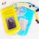 Cheap luminous waterproof bag pvc waterproof bags fits portable mobile phone