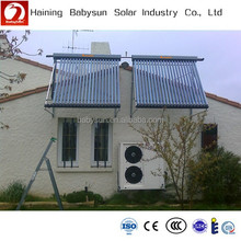 2015 newly designed homemade split pressurized vacuum tubes hot solar water heater guangzhou