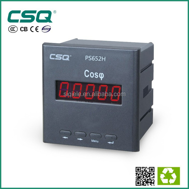 CSQ power factor meter with RS 485