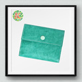 KEREN wholesale mint green dupont tyvek paper money clip wallet