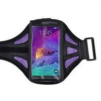 Cell accessoires cycling mesh adjustable neprene sport armband jogging case cover for mobile phone