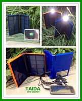 Solar Charger for Smart Phone Pad with 1w Emergency Light