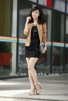 2012 krorean fashion slim-fitting lady jacket (temperament type)