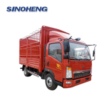 sinotruk howo light small cargo trucks