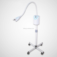 Blue LED light teeth whitening lamp