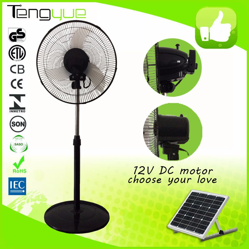 Hot sale standing solar powered ventilation fan for Africa, Middle East and South Africa