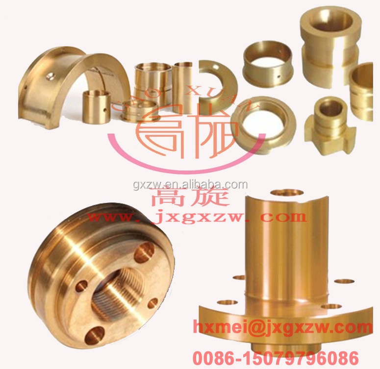 OEM accutate brass sleeve bushings,half bearing bushing