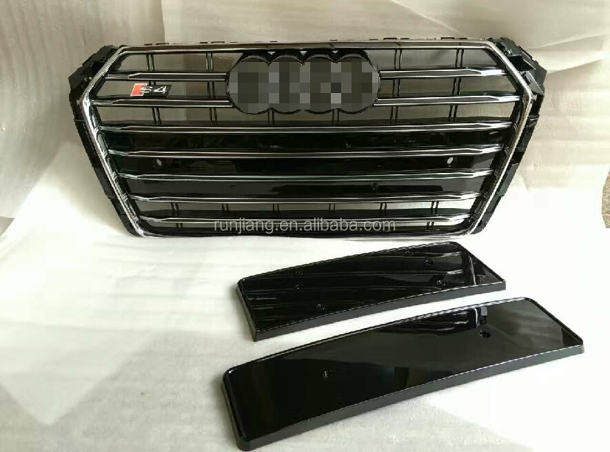 2017 A4 Modification Grille Change to S4 Style Auto Spare Part New Grille for Audi A4 2017