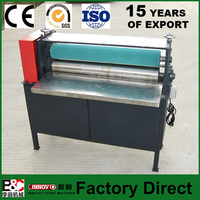 Corrugated cardboard press machine pressing device manual book corner cutting machine album making machine