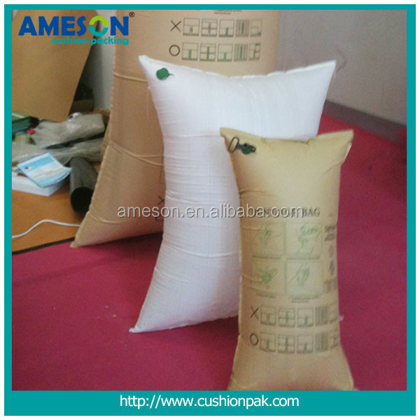 China Goods Wholesale inflatable dunnage bag/container pillow