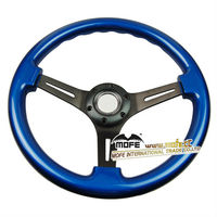 Hot quanlity 350mm racing car wood go kart steering wheel