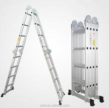 Collapsible aluminum ladder