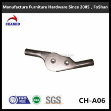 Manufacturer supply folding metal sofa chair for round pipe Mechanism hinge CH-A06