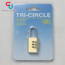 Hot Sell Brass Code Suitcase Lock
