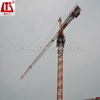 71KW total power hongda electric tower crane with CE ISO approved