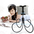 Hot sales rotating goose-neck tablet holder stand for ipad