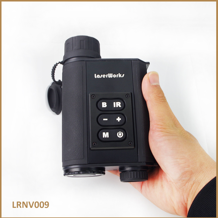 Laser Works Multifunctional Laser Infrared Digital Day and Night Vision Monocular