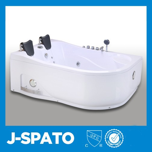 Contemporary Diaphanous Enclosed Well-Shaped Oval Large Plastic Tubs With Bathroom Faucet