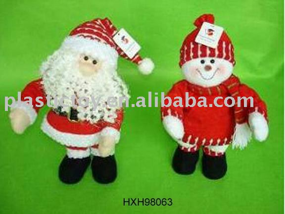 "Christmas toy 14"" b/o dancing santa HXH98063"