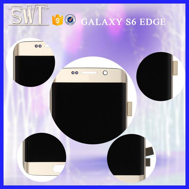 Factory price high copy lcd for samsung galaxy s6 edge g925 clone lcd panel