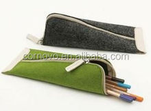 factory for 2mm thick pink felt pencil bag
