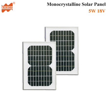5W 18V Monocrystalline Solar Panel Module with CE, RoHS Certificates