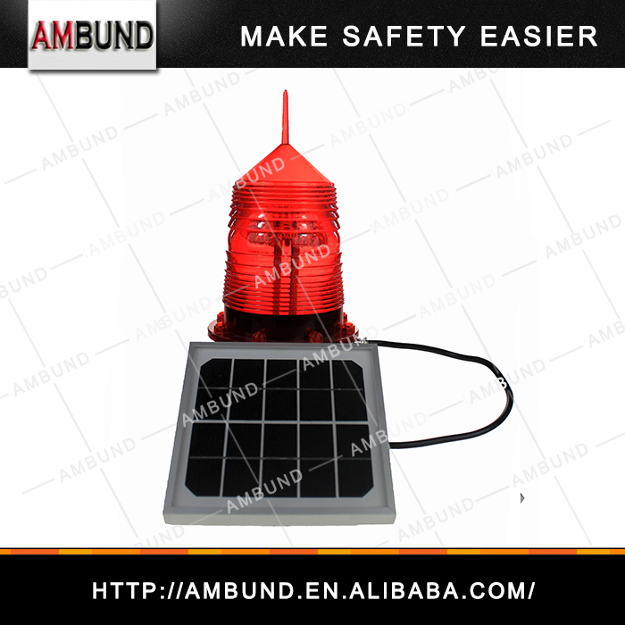 Durable and high quality solar LED marine light and obstruction light manufactured by professional marine LED light factory