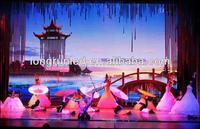 High Resolution 16x32 Pixels P6 SMD RGB Full Color Indoor 6mm Led Video Wall