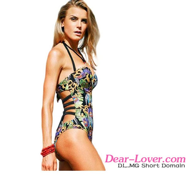 Dear Lover 2016 New Design Women Cheap Sexy Chic Glamour One Piece Monokini Swimsuit
