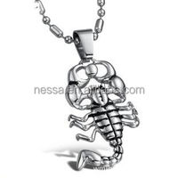 men's hip hop stainless steel necklace