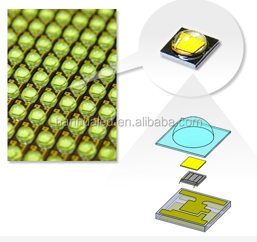 3535 smd chip, smd led white in 0.5w-150ma , 1w -350 ma in high Lm product