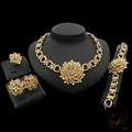 cheap bulk christmas gifts costume jewelry new york Sunflowers pendant jewellery sets