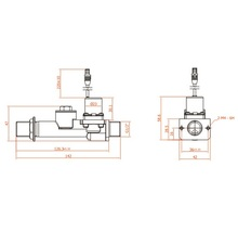 6v latching valve sanitary fitting pneumatic solenoid valve diagram