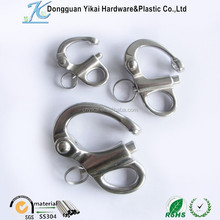 swivel lifting eye hook,stainless steel hooks with fixed eyes