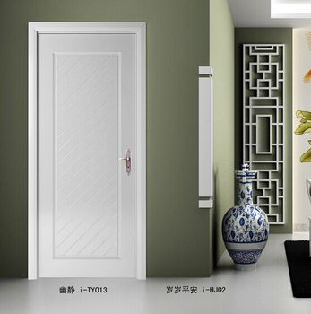 2016 hot selling modern house door wood door design hotel room door