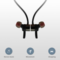 Magnetic Bluetooth Headphones, Rambotech Earbuds Wireless Magnetic Stereo Earphone, Secure Fit for Sports with Built-in Mic