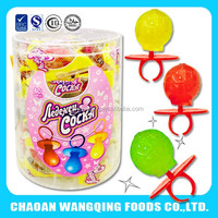 Ring lollipop candy direct factory price