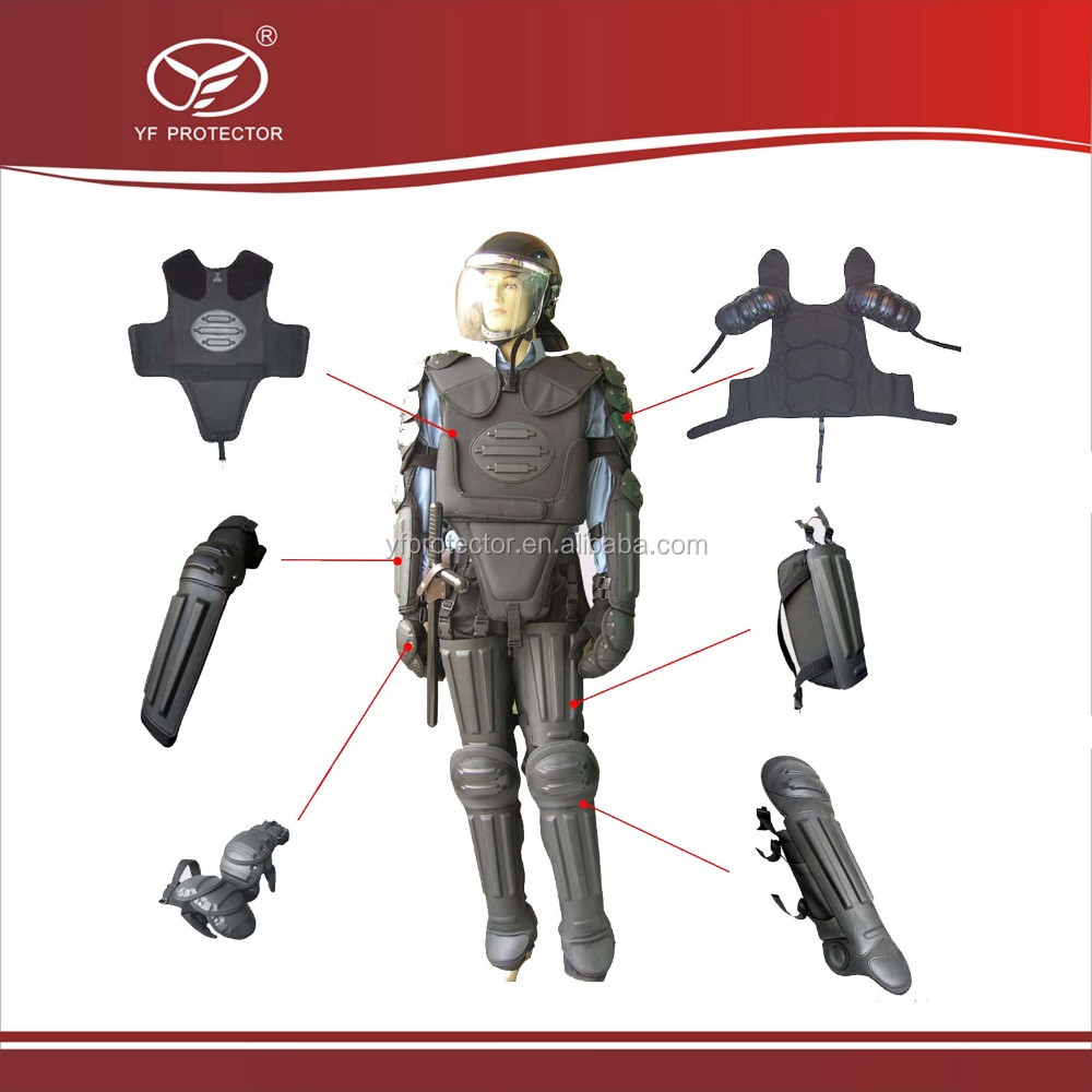 military and army use anti riot suit/flame resistant anti riot suit for sale