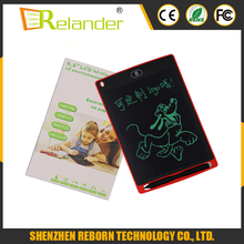 New Erasable paperless 8.5inch kids drawing E-writer LCD writing tablet