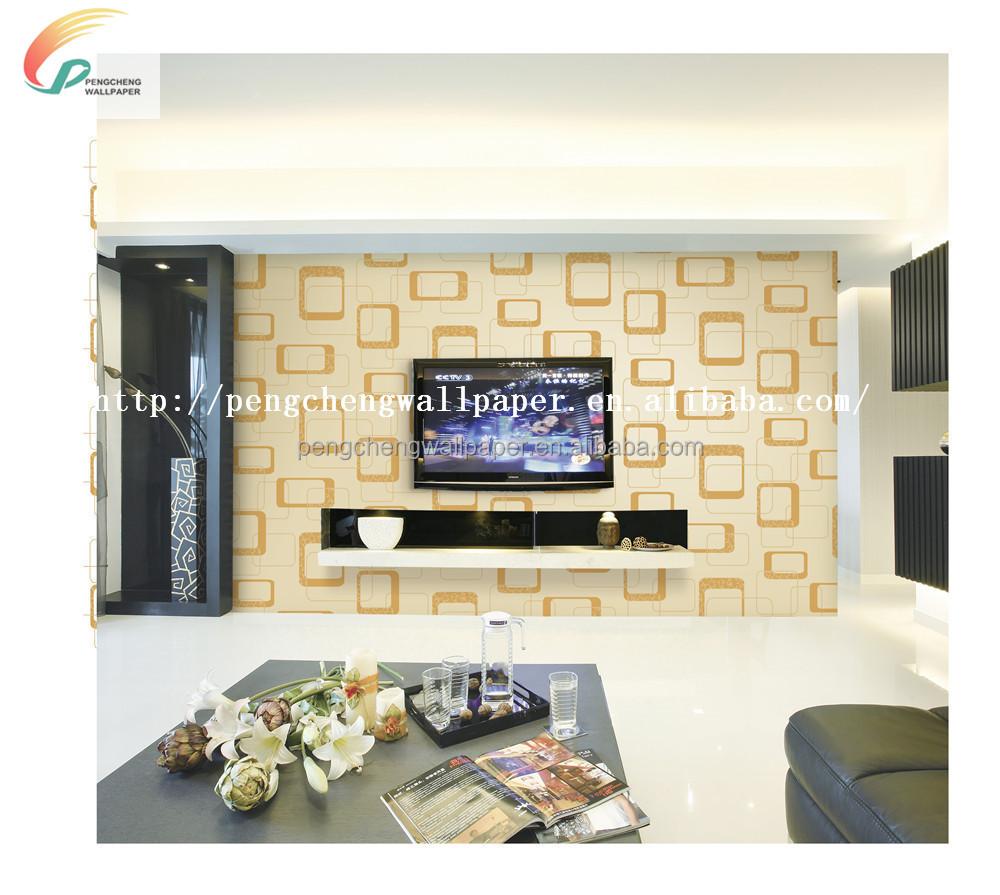 새로운 도착 아름다운 디자인 pvc 벽지/벽 종이 배경 화면/벽 코팅 ...