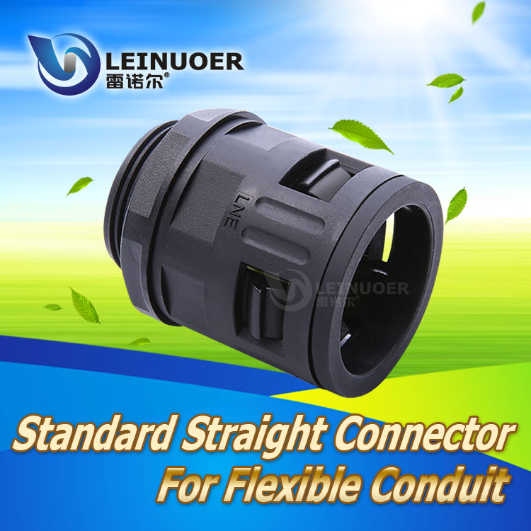 Free sample PA Corrugated Conduit Plastic Connector