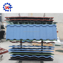 Hot selling color stone-coated metal roof tiles prices color roof philippines