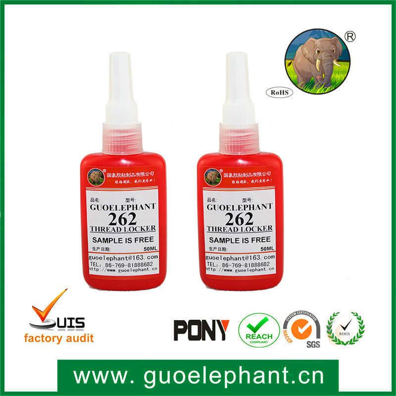Professional anaerobic sealant adhesive 262 thread locker for industrial