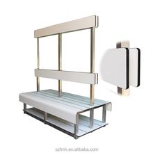 china best fashionable changing room bench for lockers